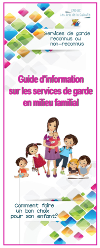 Document à l'intention des parents-utilisateurs des services de garde en milieu familial